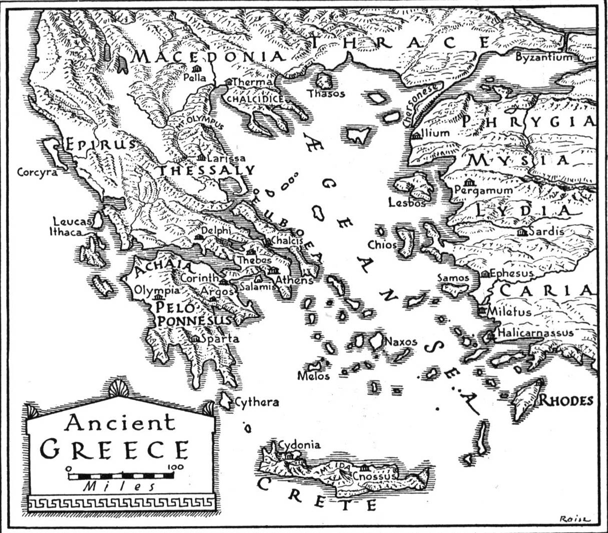 Ashbrookmythology Licensed For Non Commercial Use Only Ancient Greece Prezi